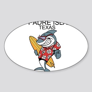 Padre Island, Texas Sticker
